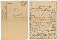 06531 - Feldpostbrief, 3.1.1943 nach Neustadt - Stabsapotheker Reserve-Lazarett