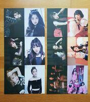 Red Velvet The 2nd Album Bad Boy Ver.2 ARTIUM SUM Official Postcards Member Set