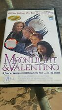 MOONLIGHT AND VALENTINO - JON BON JOVI,  GWYNETH PALTROW - VHS VIDEO