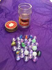 Antique Vintage Old Marbles Lot, cat eye Milk glass mixed group ESTATE FIND