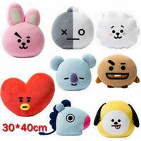 For KPOP BTS BT21 TATA SHOOKY RJ Plush Toy SUGA COOKY Bed Sofa Plush Pillow Doll
