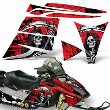 Decal Graphic Kit Ski Doo Rev Skidoo Sled Snowmobile Sticker Wrap 03-09 REAP RED