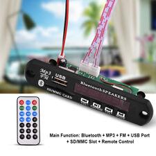12V Car Bluetooth Wireless MP3 Decoder Board Audio Module USB SD FM Radio Kit AM