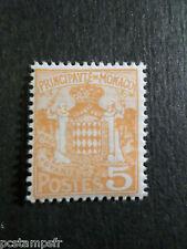 MONACO 1924-33, timbre 75, ARMOIRIES, neuf**, VF MNH STAMP