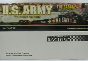2003 Tony Schumacher 1:16 Scale Milestone Diecast Army of One Top Fuel Dragster