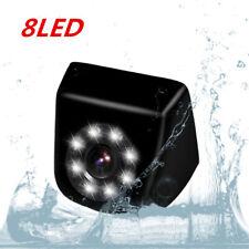 Universal KFZ HD Rückfahrkamera 12V 8LED Nachtsicht Kamera Anschraub-Kamera Neu