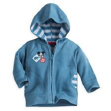 Nwt Mickey Mouse Fleece Hoodie for Baby 12/18m