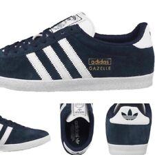 Mens Adidas Trainers Sneakers Navy Gazelle OG Q21600 Genuine RRP £80 7 8 8.5 910