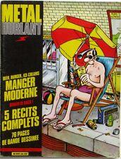 Metal Hurlant n°54 - 1980 - Frank Margerin - Laurent Lessere - Hugo Pratt -