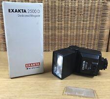 EXAKTA 2500D, Aufsteckblitz mit Mittenkontakt und TTL Steuerung, OVP, getestet