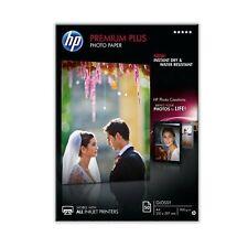 Original HP A4 Premium Plus Inkjet Glossy Photo Paper 300gsm - 50 Sheets (CR674A