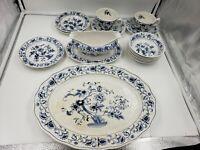 Double Phoenix Ironstone Ming Tree Japan Dish 17 piece Set platter bowl cup