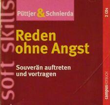 Reden ohne Angst von Christian Püttjer und Uwe Schnierda, Hörbuch