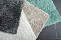 Allure Luxury Supersoft Absorbent Deep Pile Microfibre Bath Mat 50 x 80cm