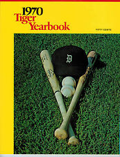 Detroit Tigers 1970 Official Team Yearbook