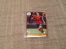 #309 Andres Iniesta Spain Panini Euro 2012 PLATINUM EDITION sticker Barcelona