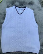 BOYS JANIE AND JACK COTTON SWEATER VEST Size 7