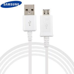 Cavetto Cavo ORIGINALE USB PER SAMSUNG  ECB-DU4AWC MICRO DATI  S4 S5 S6 S7 Note