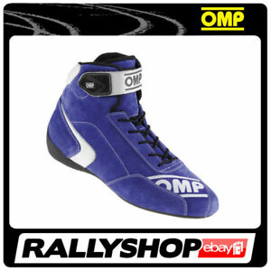 FIA Approved OMP First S Shoes, size 46 CHEAP DELIVERY WORLD! Blue STOCK