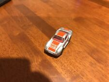 Matchbox Toy Car: 1986 Silver Porsche 959 With Orange Stripe