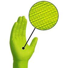 Ammex Gloveworks Green Nitrile Gloves- XL- 100ct/box- GWGN48100
