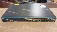🔥 Cisco WS-C2960S-24TS-L IOS 15.2(2a)E1 Catalyst Gigabit switch 2960S-24TS-L