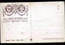 TIVOLI ( ITALIE) VILLA D'ESTE illustrée par R. SIMONDI ,Cinquantenario 1861-1911