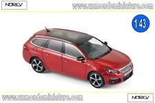 PROMO Peugeot 308 SW GT 2017 Ultimate Red  NOREV - NO 473817 - Echelle 1/43