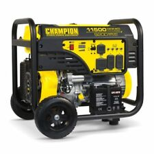 100110- 9200/11,500w Champion Generator, Electric Start, W/ 50AMP