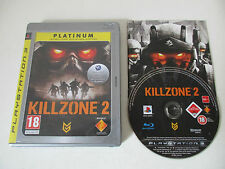 KILLZONE 2 - SONY PLAYSTATION 3 - JEU PS3 PLATINUM COMPLET
