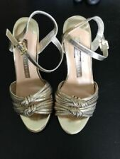 Marks and Spencer Textile Stiletto Strappy, Ankle Straps Heels for Women