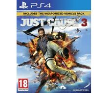 Just Cause 3 (Sony PlayStation 4, 2016) [Weaponized Vehicle Pack]