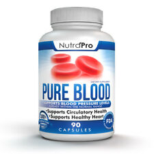 Blood Pressure Support.Cardiovascular Health and Cholesterol Lowering.90 Caps