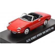 Alfa Romeo Spider 1600 Duetto 1966 1:43 Agostini Diecast