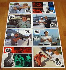 TOP JOB (8 Kinoaushangfotos '68) - KLAUS KINSKI / ROBERT HOFFMANN