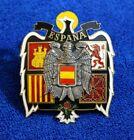Vintage Brass Espana Grille Badge Bumper License Plate Topper Emblem