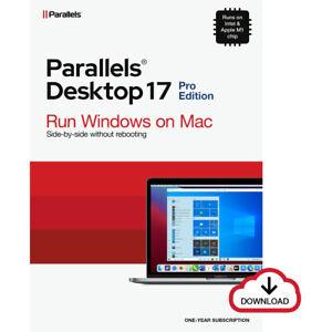 Parallels Desktop 17 PRO für MAC *1-Jahr* (ESD) / KEY