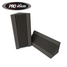 2x AFBT02 Pro Acoustic Foam 3ft  915mm Bass Traps Professional Studio Treatment