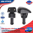 2 PCS Windshield Washer Nozzles Spray Replacement for Chrysler Dodge Jeep Ram photo