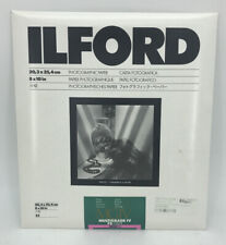 Sealed Ilford 8 x 10 Multigrade Iv Fiber Based Photographic Paper - Pack of 25