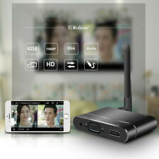 For IOS AirPlay Android WINDOWS PC Tablet TV Wireless HDMI VGA WIFI Same Screen
