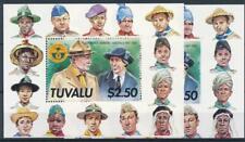 [310925] Tuvalu 2 good Sheets very fine MNH