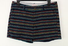 Merona Womens 4 Shorts Multi Colored Dotted Stripes Short