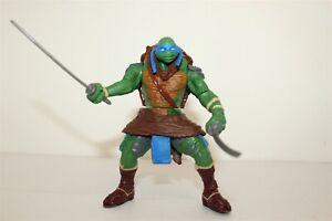 """Teenage Mutant Ninja Turtles Leonardo Action Figure 2014 Playmates 5"""" G4230"""