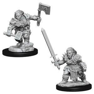 Pathfinder Deep Cuts Unpainted Miniatures Female Dwarf Barbarian - WizKids
