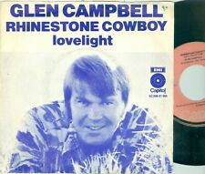 "GLEN CAMPBELL - RHINESTONE COWBOY ( DUTCH CAPITOL 5C006-81955) 7""PS 1975"