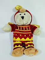 Rooster Bearista Plush Doll Starbucks Coffee Year 2017 Stuffed Animal Mascot Toy