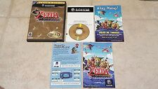Nintendo Gamecube - Legend of Zelda: The Wind Waker - Complete! - Free Shipping!