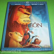 EL REY LEON CLASICO DISNEY 32 COMBO BLU-RAY + DVD NUEVO PRECINTADO SLIPCOVER