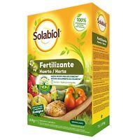 Fertilizante granulado para huerta SOLABIOL 1,5Kg (Apto agricultura ecológica)